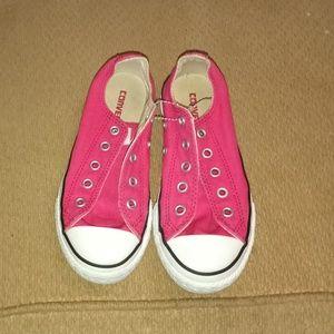 Converse Shoes - Girls/kids Pink Converse 💗